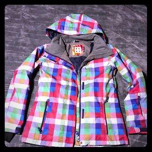 🏂EUC Woman's Roxy snowboarding jacket 🎿